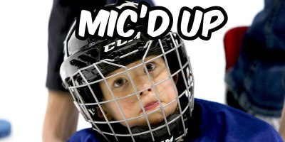Dad Has Stroke of Genius, Mics Up 4-Year Old Son for Hockey Practice