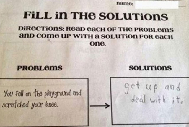 funny witty cheeky test answers 13 25 Inspired Test Answers That Show The Kids Are Going To Be Alright