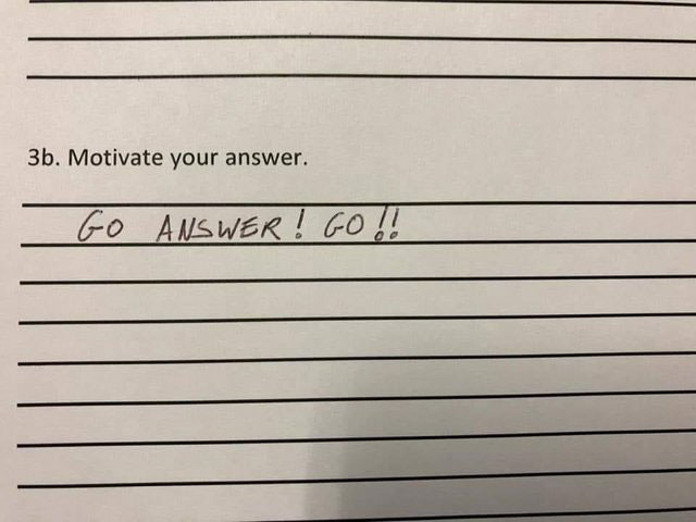 funny witty cheeky test answers 2 25 Inspired Test Answers That Show The Kids Are Going To Be Alright