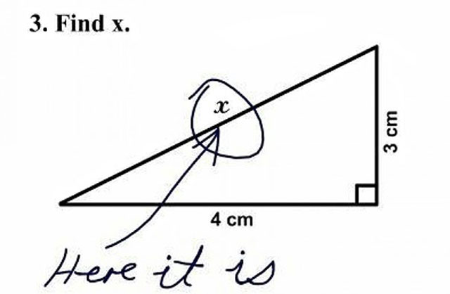 funny witty cheeky test answers 4 25 Inspired Test Answers That Show The Kids Are Going To Be Alright