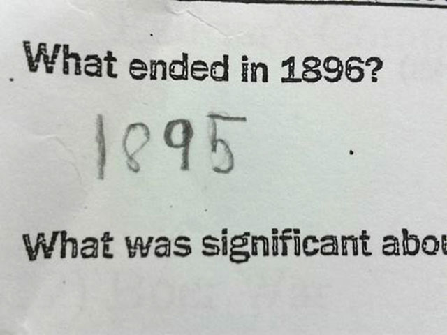 funny witty cheeky test answers 5 25 Inspired Test Answers That Show The Kids Are Going To Be Alright