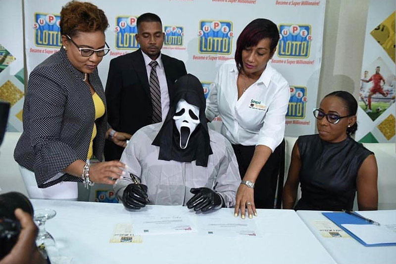 jamaica lottery winners masks costumes 1 In Jamaica, Big Lottery Winners Get Costumes to Protect Their Identity