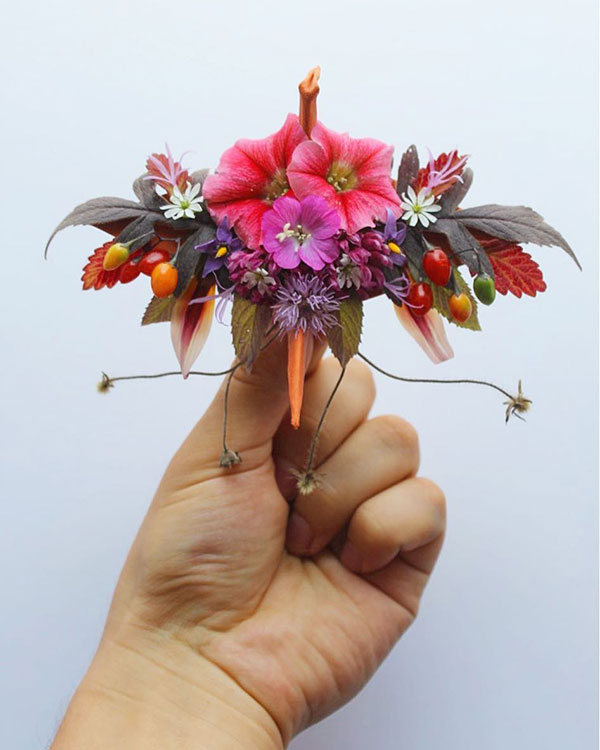 paper crane decorations by cristian marianciuc 5 Paper Artist Folds Cranes and Then Gives Them Intricate Decorations