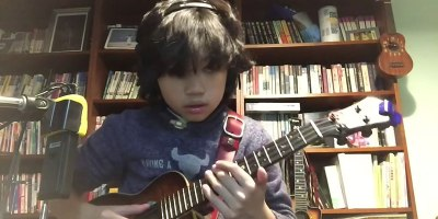 11 Year Old Ukulele Phenom Covers Nirvana's Smells Like Teen Spirit