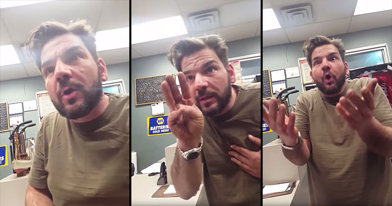 Guy Finds Out He's Having Triplets, Reacts..Unexpectedly