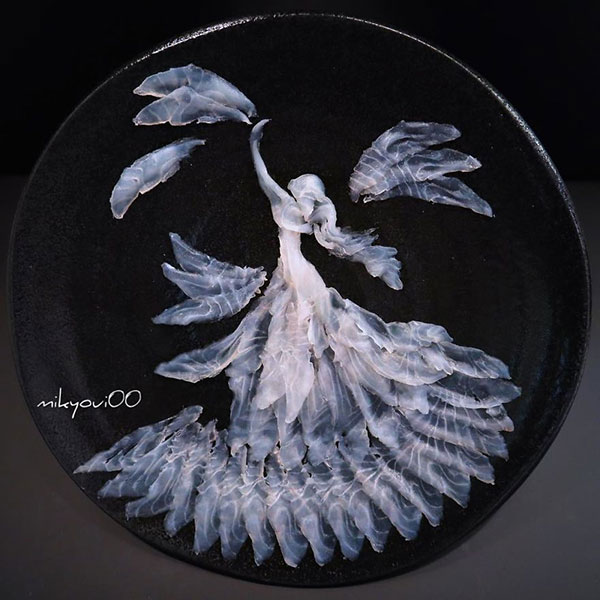 this chef plates the most beautiful sashimi art ive seen mikyou instagram 20 This Chef Plates the Most Beautiful Sashimi Art Ive Seen