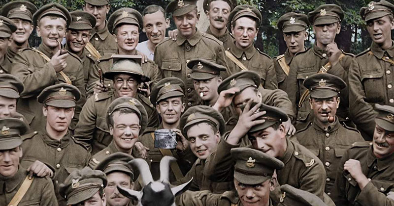 When WWI Soldiers Learned They Were Going Home (Colorized and Restored)