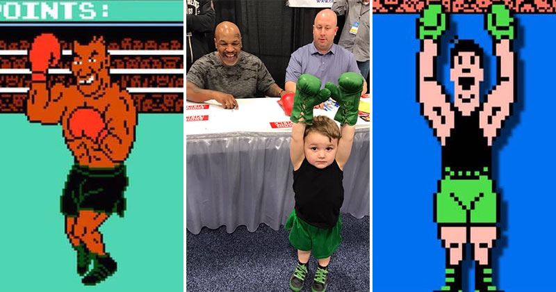 kid meets tyson dressed as lil mac The Shirk Report   Volume 520