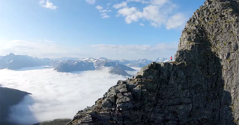 Running Ridges With KilianJornet