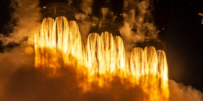 SpaceX Launches Satellite, Then Lands All 3 Booster Rockets For First TimeEver