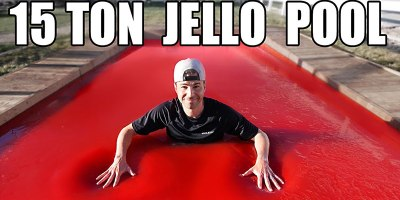 Bellyflopping Into a 15 Ton Jello Pool