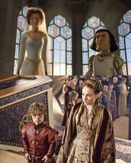 game of thrones is live action shrek 1 Game of Thrones is Just Live Action Shrek (11 Comparisons)