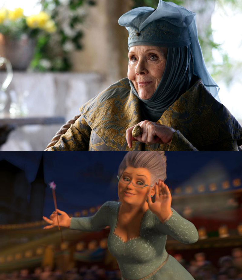 game of thrones is live action shrek 11 Game of Thrones is Just Live Action Shrek (11 Comparisons)