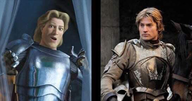Game of Thrones is Just Live-Action Shrek (11 Comparisons)