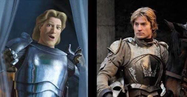 game of thrones is live action shrek 3 Game of Thrones is Just Live Action Shrek (11 Comparisons)