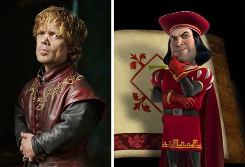game of thrones is live action shrek 7 Game of Thrones is Just Live Action Shrek (11 Comparisons)