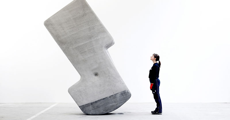 Moving Giant Concrete Blocks With Just YourHands