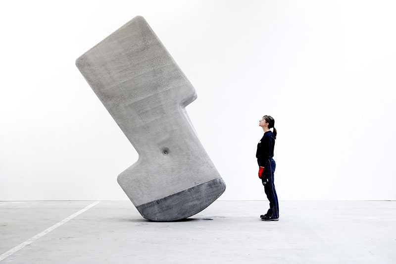 moveable concrete blocks by matter design 4 Moving Giant Concrete Blocks With Just Your Hands