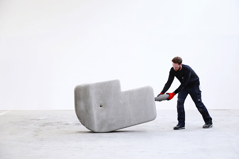 moveable concrete blocks by matter design 5 Moving Giant Concrete Blocks With Just Your Hands