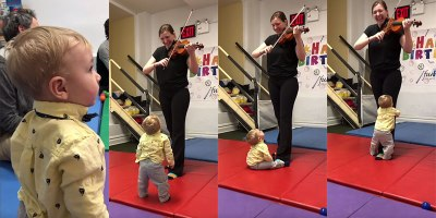 This Baby's Reaction to Hearing a Violin for the First Time Made My Day