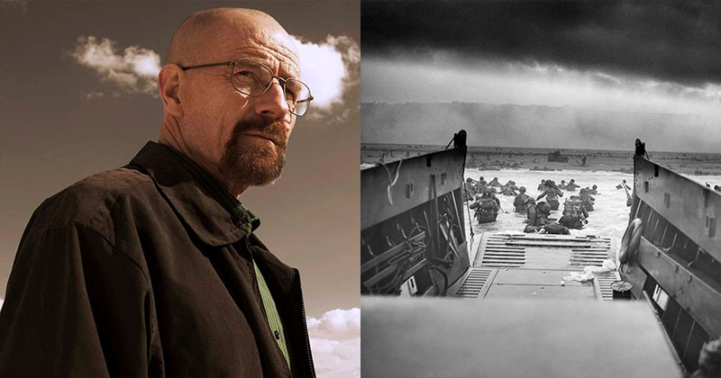 Bryan Cranston Narrates Letters from D-Day Over Restored HDFootage