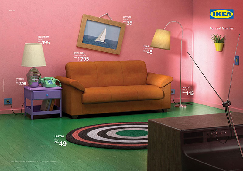famous tv living rooms recreated with ikea furniture 3 Famous TV Living Rooms Recreated Entirely With Ikea Furniture