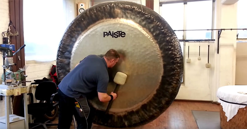 Have You Ever Heard What an 80 Inch Symphonic Gong SoundsLike?