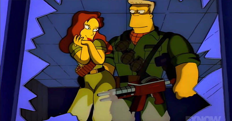 The Full McBain Movie Hidden in The Simpsons