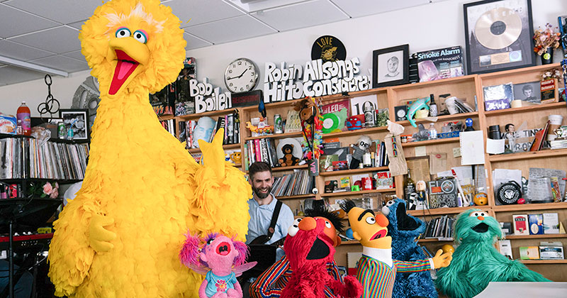 Sesame Street Went to NPR and Did an Awesome Tiny DeskConcert