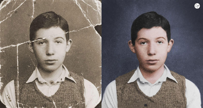 these artists restore old damaged photos and the results are incredible 2 These Artists Restore Old Damaged Photos and the Results are Incredible