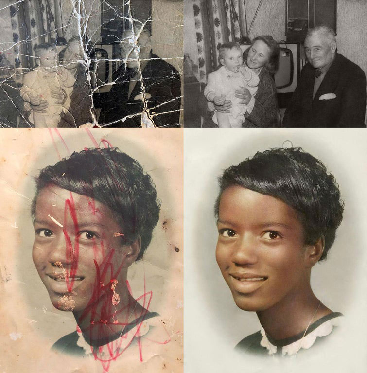 these artists restore old damaged photos and the results are incredible 3 These Artists Restore Old Damaged Photos and the Results are Incredible
