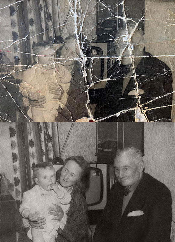 these artists restore old damaged photos and the results are incredible 7 These Artists Restore Old Damaged Photos and the Results are Incredible