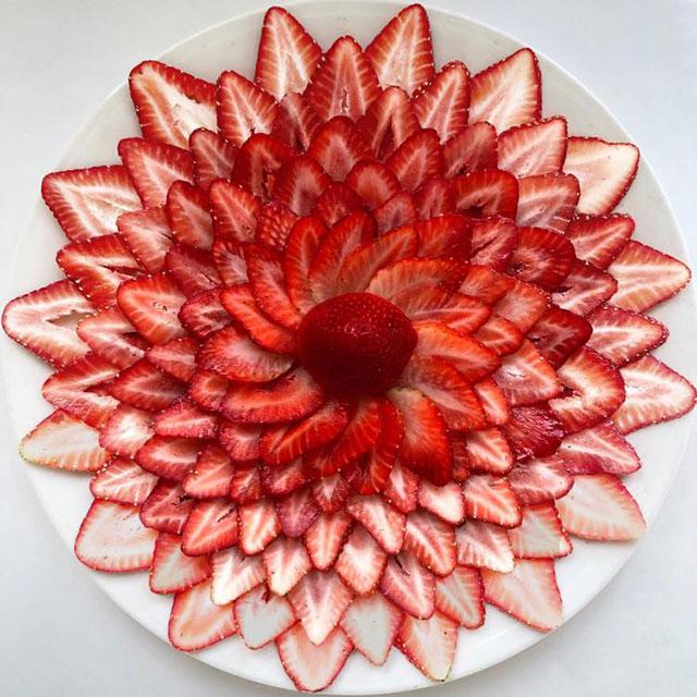 food art by adam hillman 10 21 Delicious Geometric Food Gradients by Artist Adam Hillman