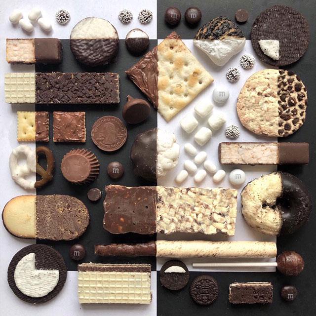 food art by adam hillman 12 21 Delicious Geometric Food Gradients by Artist Adam Hillman