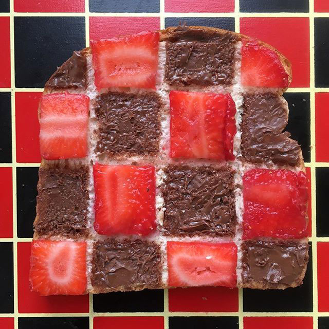 food art by adam hillman 14 21 Delicious Geometric Food Gradients by Artist Adam Hillman