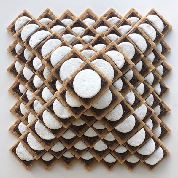 food art by adam hillman 15 21 Delicious Geometric Food Gradients by Artist Adam Hillman