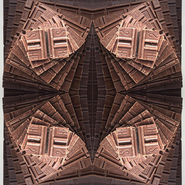 food art by adam hillman 17 21 Delicious Geometric Food Gradients by Artist Adam Hillman