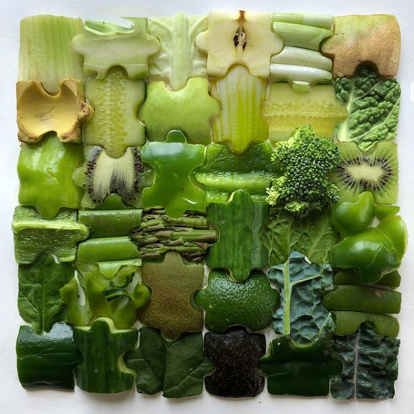 food art by adam hillman 19 21 Delicious Geometric Food Gradients by Artist Adam Hillman