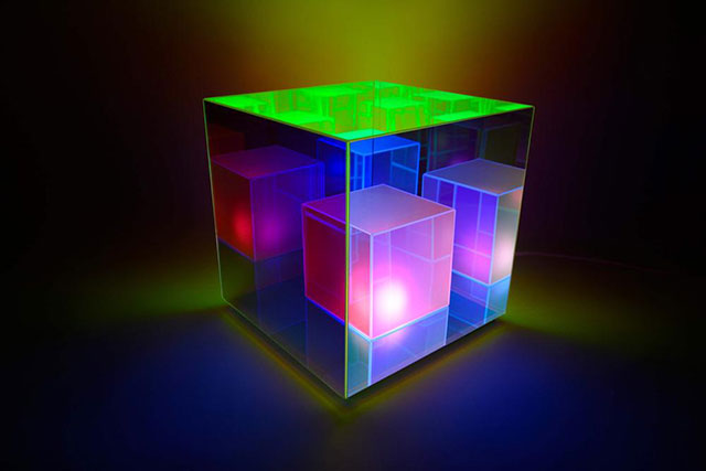infinity cube lamps by sean augustine march 12 These Infinity Cube Lamps are Incredible (15 Photos)
