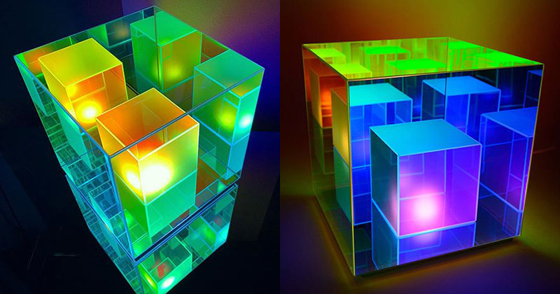 These Infinity Cube Lamps are Incredible (15Photos)
