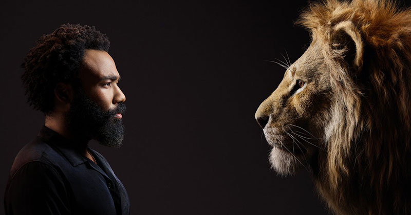 New Promo Pics Show the Lion King Cast Meeting Their Animated Counterpart