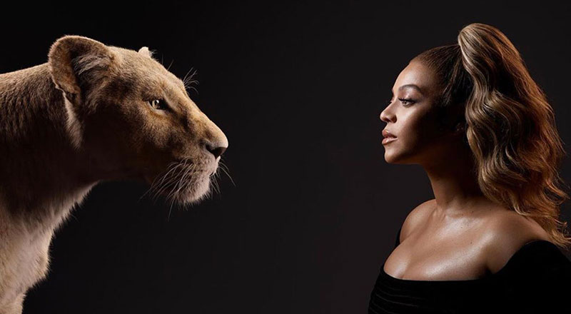 lion king cast and characters 3 New Promo Pics Show the Lion King Cast Meeting Their Animated Counterpart