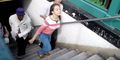 People Can't Stop Tripping on This NYC Subway Step That is a FractionTaller