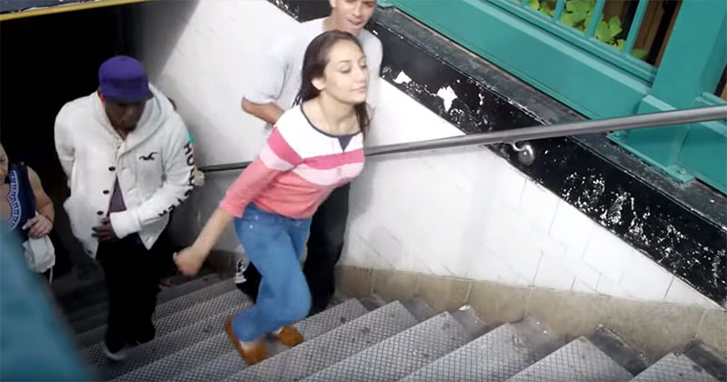 People Can't Stop Tripping on This NYC Subway Step That is a Fraction Taller