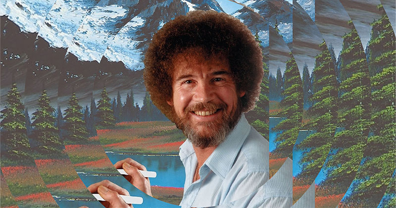 Where Are All the Bob Ross Paintings? The Most Wholesome 10 Minutes Today