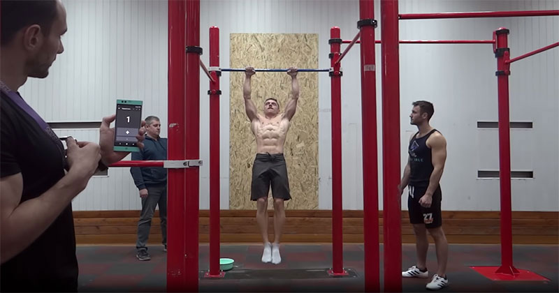 The Most Consecutive Muscle Ups World Record is Impressive