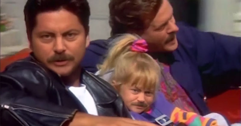 Full House, Only Everyone Looks Like RonSwanson