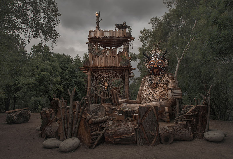 the 7 trolls and the magical tower by thomas dambo 5 The Tale of the 7 Trolls and the Magical Tower of Belgium