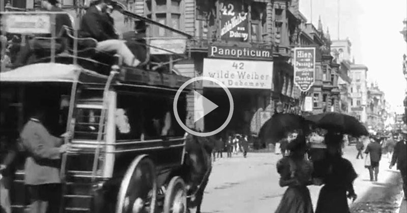 What Berlin's Famous Frederick Street Was Like in 1896