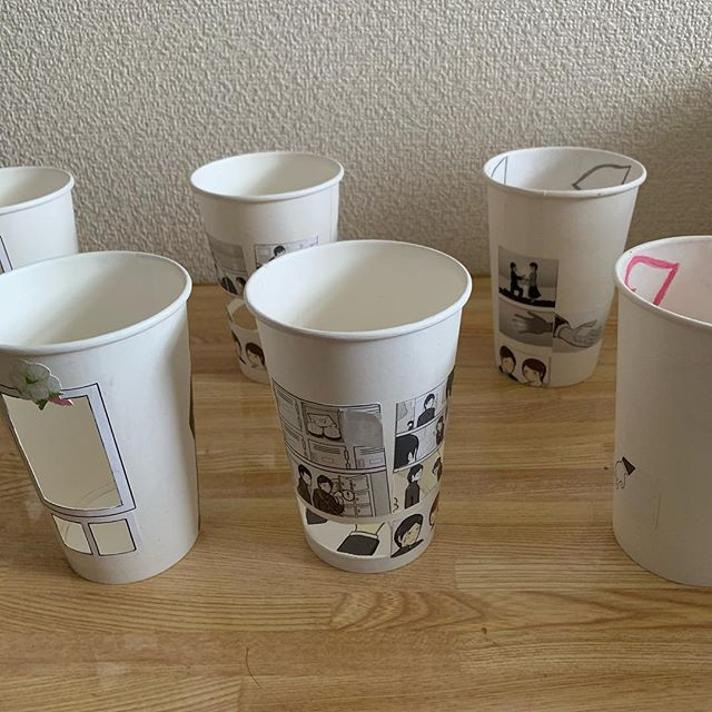 artist finds creative way to use paper cups to tell a love story 7 Artist Finds Creative Way to Use Paper Cups To Tell a Love Story